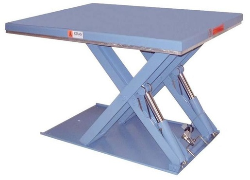 The lifting table type EB is, in pratice, always set on the ground and designed to load and unload pallets.