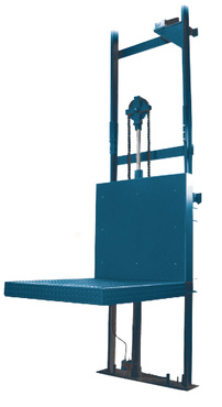 The elevator with column is designed to be used as goods-only lift, without embarked person. The guiding column, situated on one side of the platform need to be fixed to the wall or on a self-supporting structure.Capacity from 300 to 2500 daN,Vertical lifting up to 12 000 mm,Dimensions of the platform reduced.