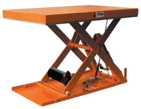The lifting table type SL is specially designed to equip working stations.as : loading and unloading of pallets, control,  preparation of orders, conditioning,…Capacity from 500 to 2000 daN,Vertical lifting up to 1000 mm,Can be equipped with safety bellows